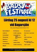 Programaffisch Badsjöfestivalen 2012